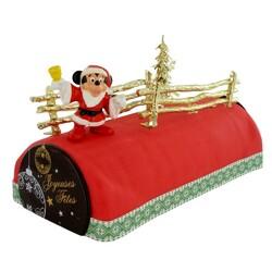 Kit Décoration bûche de Noël mickey