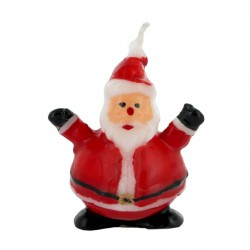 Petite bougie Père Noël