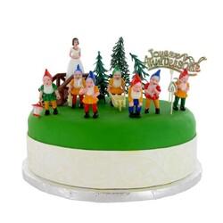 Kit Décor gâteau Blanche Neige