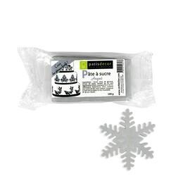 Pâte à sucre argentée Patisdécor 100g