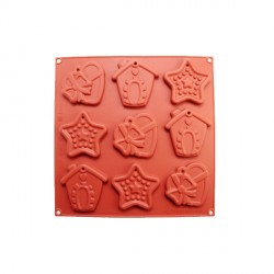 Moule silicone biscuits de Noël
