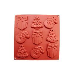 Moule silicone biscuits de Noël perforés