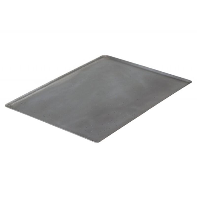 Plaque cuisson tôle acier 40 x 30 cm