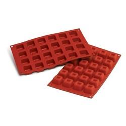 Moule silicone mini savarins carrés