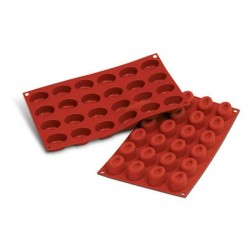 Moule silicone mini savarins ovales