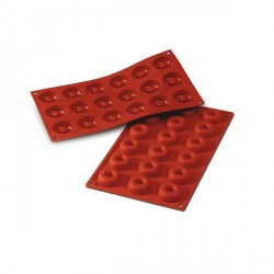 Moule silicone 18 mini-savarins