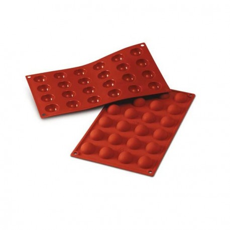 Moule silicone 24 pomponettes