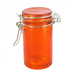 Mini bocal verre orange 6,5 cl