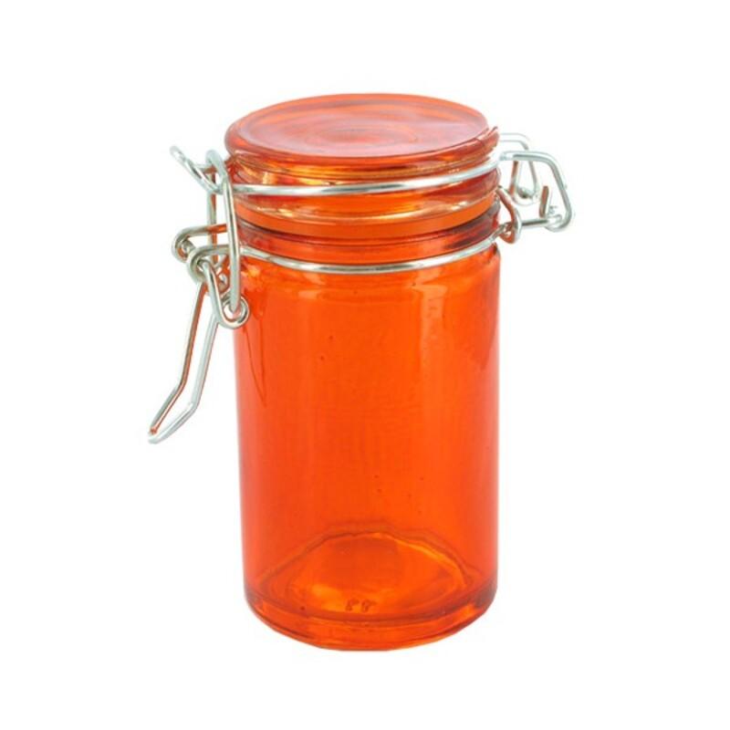 Mini bocal verre orange 6,5 cl (x12)