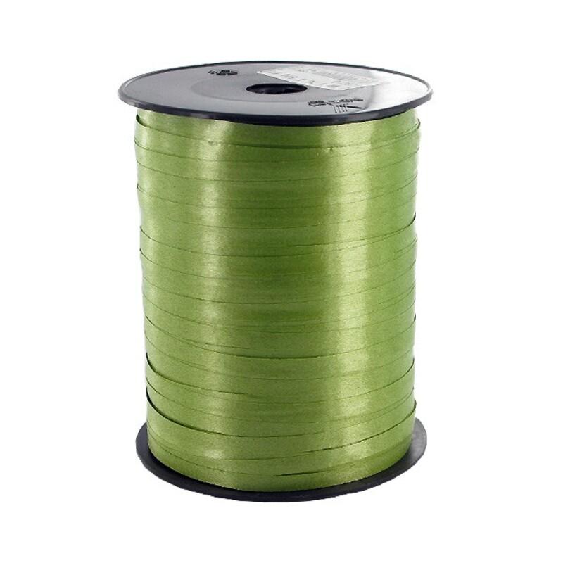 Bolduc satiné vert olive 4,5mm (500 m)