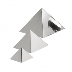 Moule Pyramide inox De Buyer