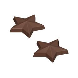 Moule chocolat Etoiles de la Nativité
