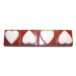 Moule chocolats coeurs st valentin