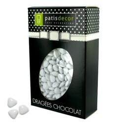 Mini-coeurs chocolat blanc Patisdécor 500 g