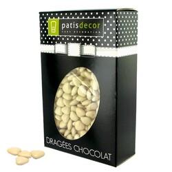 Mini-coeurs chocolat ivoire Patisdécor 500 g