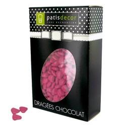 Mini-coeurs chocolat framboise Patisdécor 500 g