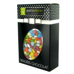 Mini coeurs chocolat assortis Patisdécor 500 g