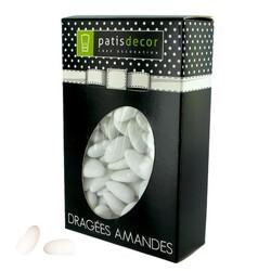 Dragées amandes alsace blanches Patisdécor 500 g