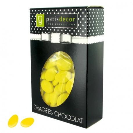 Dragées chocolat bouton d'or Patisdécor 500 g