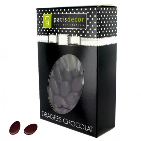 Dragées chocolat marron Patisdécor 500 g