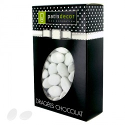 Dragées chocolat blanches Patisdécor 500 g