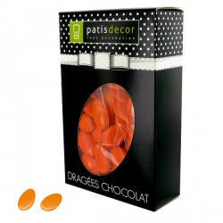 Dragées chocolat orange capucine Patisdécor 500 g