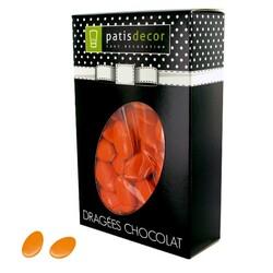 Dragées chocolat orange capucine Patisdécor 500 g