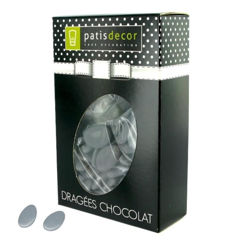 Dragées chocolat grises Patisdécor 500 g