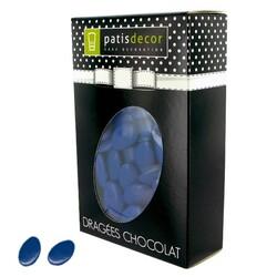 Dragées chocolat bleu roy Patisdécor 500 g