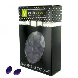 Dragées chocolat aubergine Patisdécor 500 g