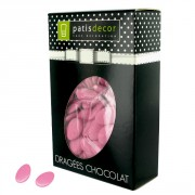 Dragées chocolat Rose Nacre Patisdécor 500 g