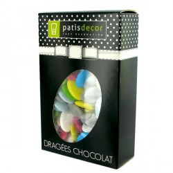 Dragées chocolat multicolores Patisdécor 500g