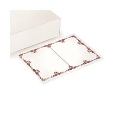 Feuillette milune décorée pour mousse (x1000)