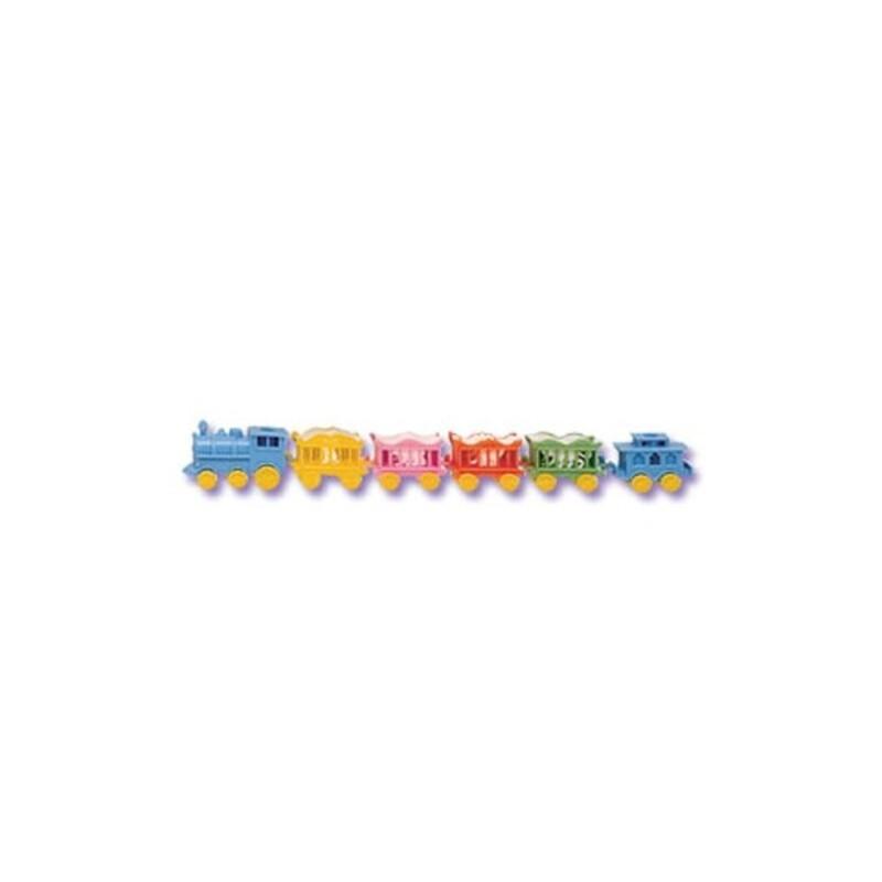 Petit Train bougies d'anniversaire (x12)