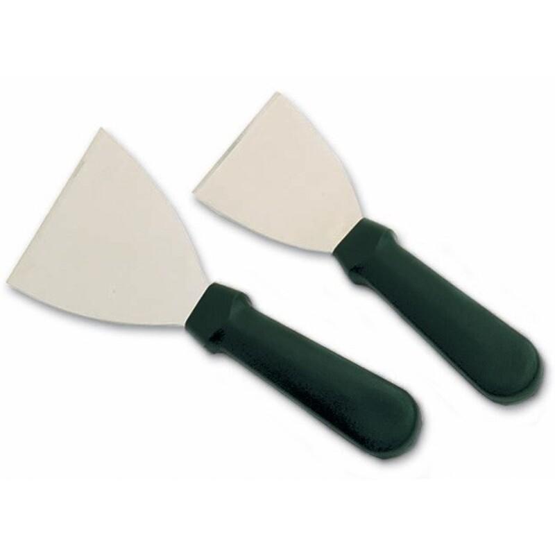 Spatule triangle inox 8 cm