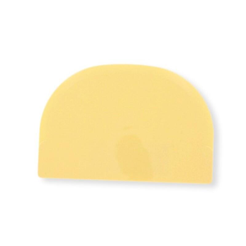 Racloir pâtisserie demi-rond souple