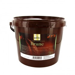 Pâte à glacer brune Barry 5 kg