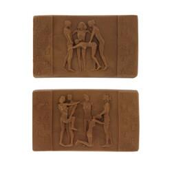Moule chocolats Kamasutra rectangulaires