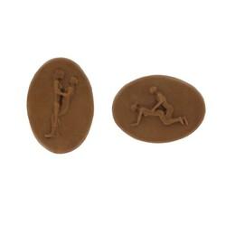 Moule chocolats Kamasutra ovales