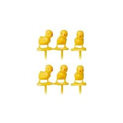 Mini poussin sur pique (x 100)