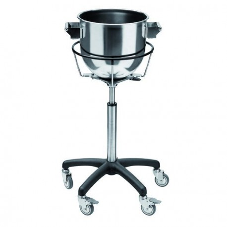 Chariot porte-cuves inox