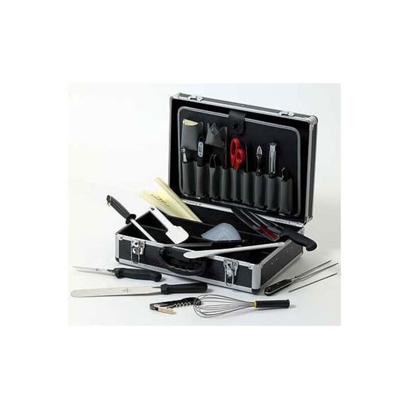 Mallette de cuisine 24 outils matfer cerf dellier for Cuisine outils