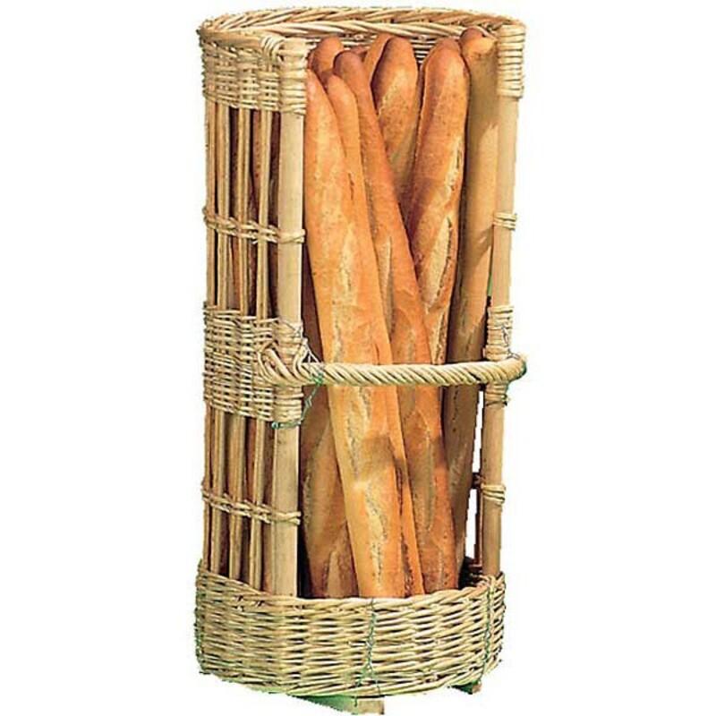 Claie à pain en osier ronde Ø 35 cm