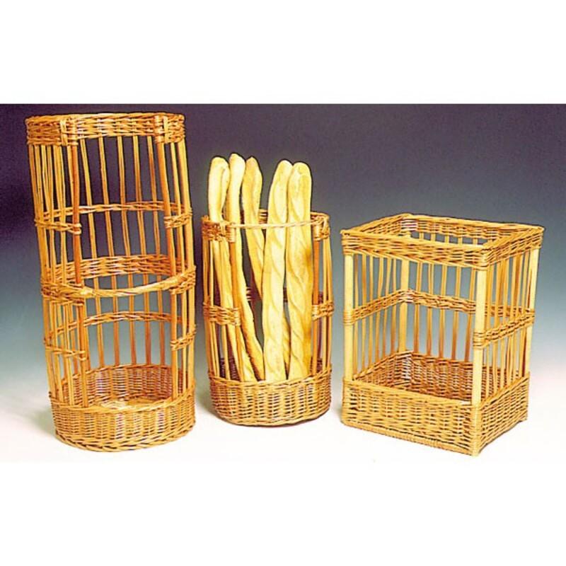 Claie à pain ronde en osier Ø 30 cm