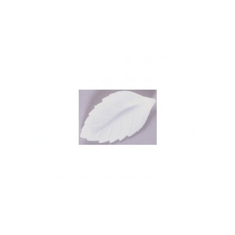 Feuille de rose 47 mm blanche (x350)
