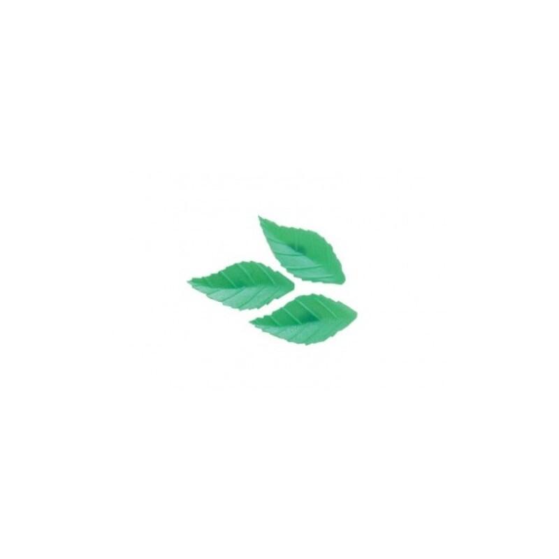 Feuille de rose 38 mm vert clair (x500)