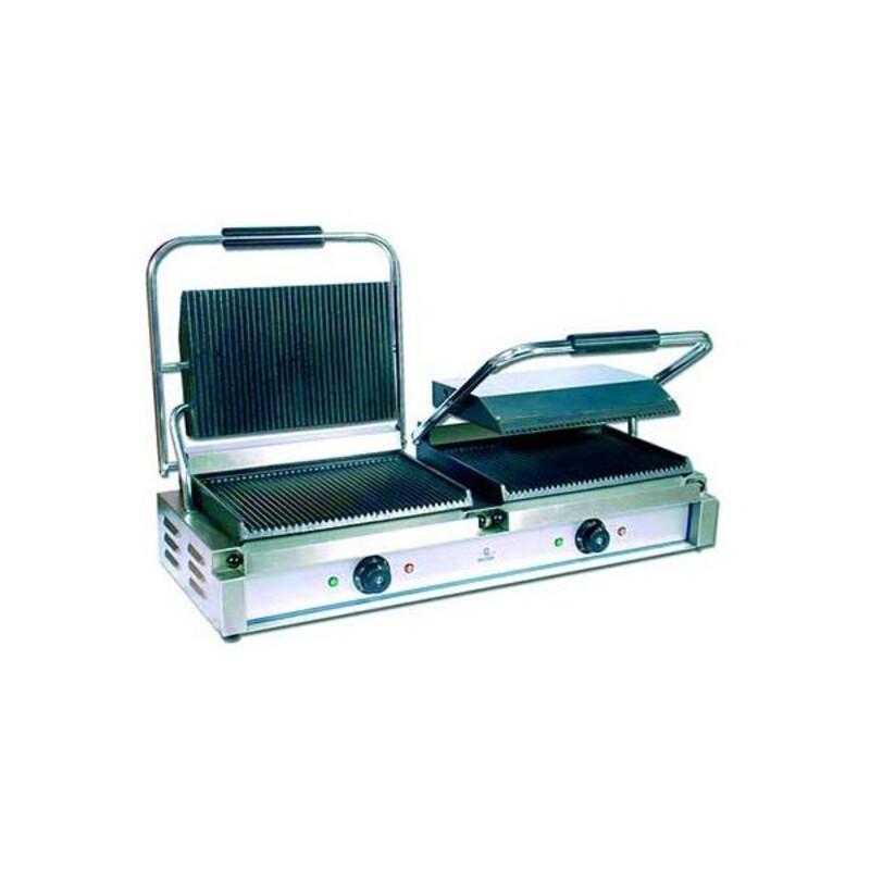 grill viande panini double ecoline. Black Bedroom Furniture Sets. Home Design Ideas