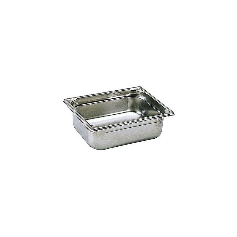 Bac inox gn 1 2 matfer 12 litres cerf dellier for Bacs inox restauration