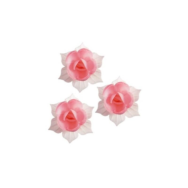 Jonquille rose et blanche en azyme (x28) - Florensuc | Cerf Dellier