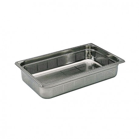 Bac gastronorme perforé inox GN 1/1